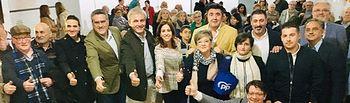 Acto de presentación  de la candidatura del PP de Socuéllamos.