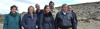 Marta García visita visita a la carretera autonómica CM-2101