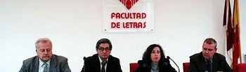 Carlos Reyero, Miguel Cortés, Mairena Martín y Julián Díaz.