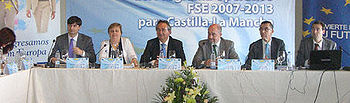 Francisco Rueda en el IV Comité de Seguimiento del programa operativo del Fondo Social Europeo 2007-2013