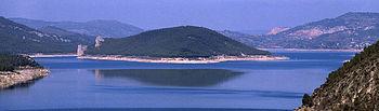 Embalse de Entrepeñas. Foto: Wikipedia.