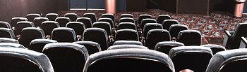 Sala de cine. Imagen de archivo.