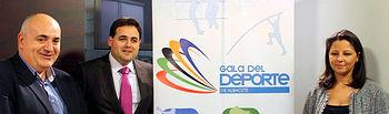 Presentación de los premiados en la X Gala del Deporte de Albacete