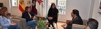 Visita a la Oficina de Turismo de CLM en Madrid y a la Casa de México.