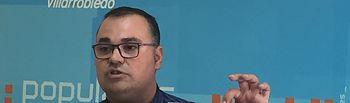 Bernardo Ortega, portavoz PP Ayuntamiento de Villarrobledo.