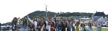 Representantes de la Consejería de Educación visitan a los alumnos de los cursos de idiomas en el extranjero subvencionados por el Gobierno regional. Foto: JCCM.