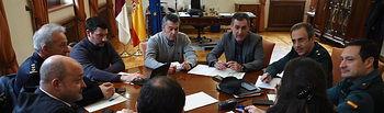 Reunión del CECOP en Albacete, al que ha asistido el Delegado del Gobierno en C-LM, Francisco Tierraseca. Foto: Manuel Lozano Garcia / La Cerca