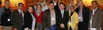 Alcaldes iberoamericanos con José Gutiérrez