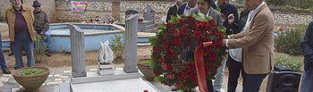 Acto en homenaje a los socialistas caídos en Guadalajara.