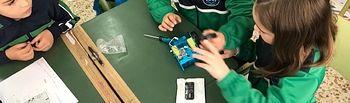 El Colegio San Cristóbal de Albacete participa en la Semana Europeo de la Robótica.