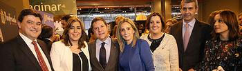 El presidente de Castilla-La Mancha, Emiliano García-Page, asiste al acto oficial de traspaso de la capitalidad gastronómica de la ciudad de Toledo a la de Huelva. (Fotos: Ignacio López//JCCM)