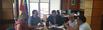 Reunión Fomento con Ayuntamiento de Tobarra.