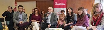 Desayuno informativo de Pedro Antonio Ruiz Santos, candidato a la Secretaría Provincial del PSOE de Albacete