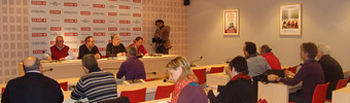 Foto de la reunión de la Ejecutiva