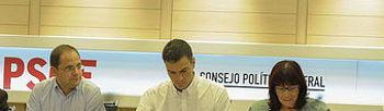 Imagen de la reunión del Consejo Politico Federal