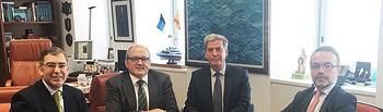 El Secretario general de Pesca se reúne con el Embajador de España en Malasia. Foto: Ministerio de Agricultura, Alimentación y Medio Ambiente