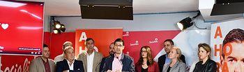 """El PSOE provincial de Ciudad Real llama a la movilización para que """"Ahora sí"""" haya un gobierno estable y progresista liderado por Pedro Sánchez."""