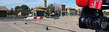 Puerta de la Base Aérea de Los Llanos.