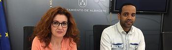 Juani García y Héctor García.