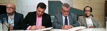 Convenio de colaboración entre la consejería de Educación y el Ayuntamiento de Albacete