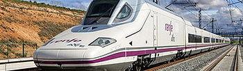 Tren AVE circulando (Foto de archivo de EFE)