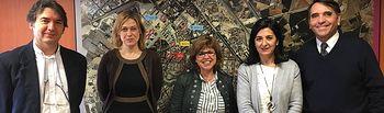 Ciudadanos Albacete visita a los trabajadores de Urvial
