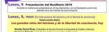 """Jornada """"La Trampa de los Feminismos Religiosos""""."""