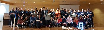 Clausura Curso Básico de Protección Civil en Albacete