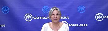 Ana Guarinos, vicepresidenta segunda de la Mesa de las Cortes de Castilla-La Mancha y diputada regional del GPP.