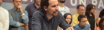 Pablo Iglesias. Foto de archivo.