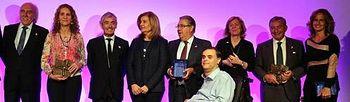 Fátima Báñez entrega los premios de la Fundación Konecta. Foto: Ministerio de Empleo y Seguridad Social.