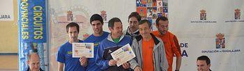 Juan Carlos Martín asiste a la entrega de Trofeos de la VIII Carrera popular de Brihuega 2. Foto: JCCM.