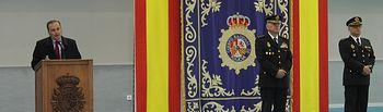 El delegado del Gobierno en Castilla-La Mancha, José Julián Gregorio, preside el acto oficial de presentación del Jefe Provincial de la Policía Nacional en Toledo