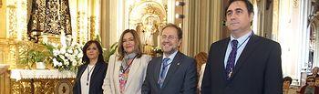 Ángel Mariscal y la Corporación Municipal asisten a la misa de la Virgen de la Luz.