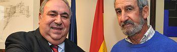 Martín-Fuertes entrega reconocimiento de Marsodeto a Vicente Tirado