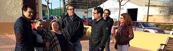 """El Grupo Municipal Socialista visita el barrio """"Hermanos Falcó"""""""