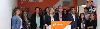 Presentación candidatura Cs elecciones municipales.