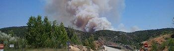 Incendio Cogulludo. Foto: Ministerio de Agricultura, Alimentación y Medio Ambiente