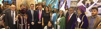 El Gobierno regional valora la riqueza de la Semana Santa de Agramón, la primera pedanía que obtiene la Declaración como Fiesta de Interés Turístico Regional. Foto: JCCM.