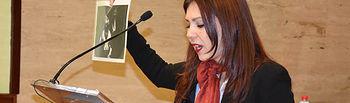 Una participante en la Liga de Debate en la UCLM, en una foto de archivo