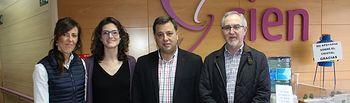 El alcalde visita el Centro Integral de Enfermedades Neurológicas de ADEM-AB.