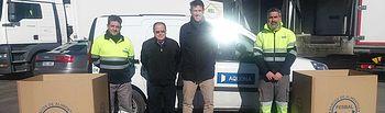 """Aquona entrega al Banco de Alimentos """"La Gran Recogida"""" en sus oficinas de la provincia de Ciudad Real"""