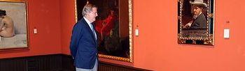 Méndez de Vigo en el museo Sorolla (Foto: Ministerio de Educación, Cultura y Deporte)