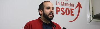 Miguel González, diputado regional del PSOE.