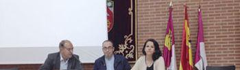 Nicolás Merino, Paco de la Rosa, Raquel Payo