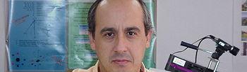 El profesor de la Escuela Superior de Informática Antonio Adán.
