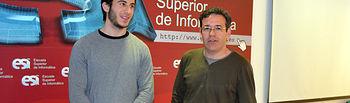 Javier Marchán y Valentín Villarroel abrieron las jornadas en la Escuela Superior de Informática de Ciudad Real