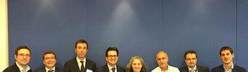 ASEDAS, COAG, UPA, Asaja y Cooperativas Agroalimentarias presentan en Europa el ''Decálogo de Prioridades para la Cadena Alimentaria''. Foto: COAG.