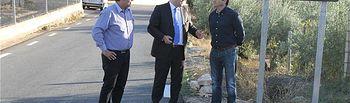 El alcalde de Elche de la Sierra traslada a Francisco Núñez la satisfacción de los vecinos por las mejoras en la carretera AB-5007