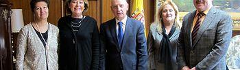 Vicente Rouco ha dado la bienvenida a los dos nueves jueces que se incorporan a la planta judicial de la región.
